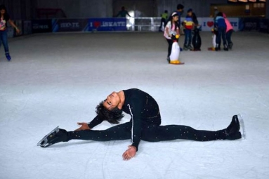 Ice Skater Rajkumar Tiwari Rewarded With Usd 2000 And Free Training In United States