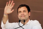 Rahul Gandhi Announces Minimum Income Guarantee Scheme