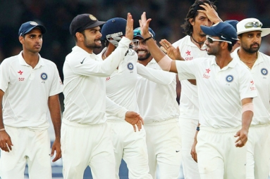 India Win Test Series Against England