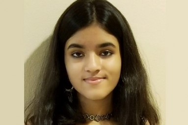 Indian American Teen Uma Menon Attend Trump's State of Union Speech