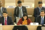 Indian diplomat slammed Pakistan in the UN council