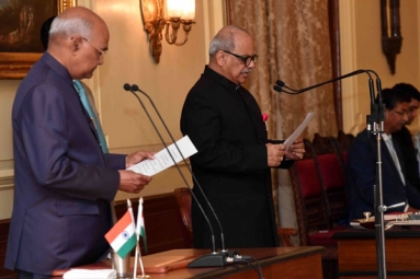 Justice PC Ghose Takes Oath As India's First Lokpal