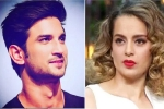 Kangana Ranaut and Mumbai Police are at Loggerheads in Sushant Singh Rajput's Death Case
