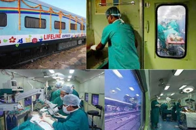 Lifeline Express, World's First Hospital-Train to Arrive in Maharashtra on June 15