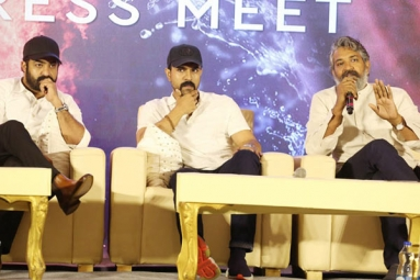 Rajamouli, NTR and Charan Reveals about RRR