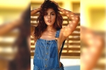 Rhea Chakraborty turns Sizzling Hot