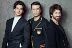 ishaan, Shahid Kapoor, koffee with karan ishaan khatter to share couch with brother shahid kapoor, Janhvi