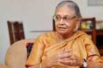 Sheila Dikshit, 3-Time Delhi Chief Minister, Dies at 81