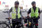 Ramadan, india to mecca by road, two indian men cycling to mecca for haj while fasting for ramadan, Mea