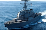 Rescue Operation Underway, For 10 sailors of US Warship