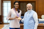 world champion pv sindhu, narendra modi, india s pride narendra modi meets world champion pv sindhu, Pio