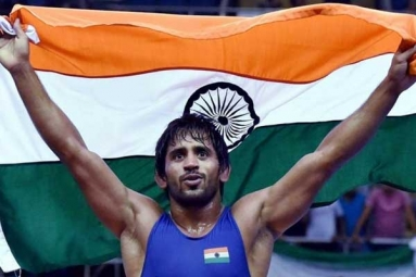 Wrestler Bajrang Punia First Indian to Get World Championship Seeding
