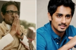 raj Thackeray, actor Siddharth, siddharth hits out at thackeray trailer for anti south indian remarks, Siddharth