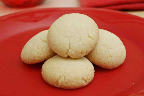Eggless Butter Biscuits Recipe