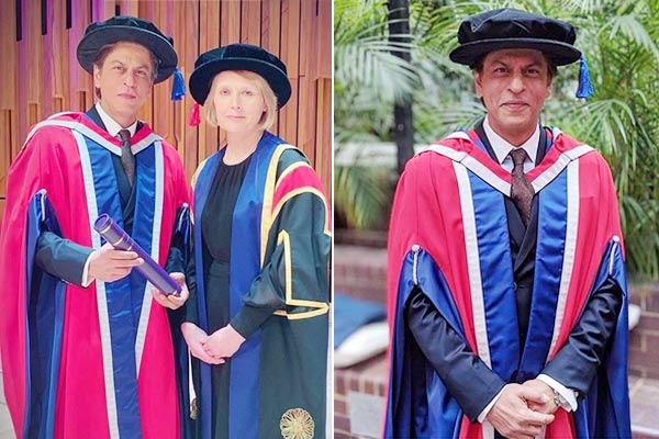 Shah Rukh Khan Receives Honorary Doctorate in Philanthropy by London University, Gives a Moving Speech on Kindness