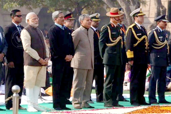 Indian PM, President Pays Tribute To 'Father Of The Nation'